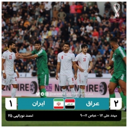 ایران در رده سوم جدول باقی ماند