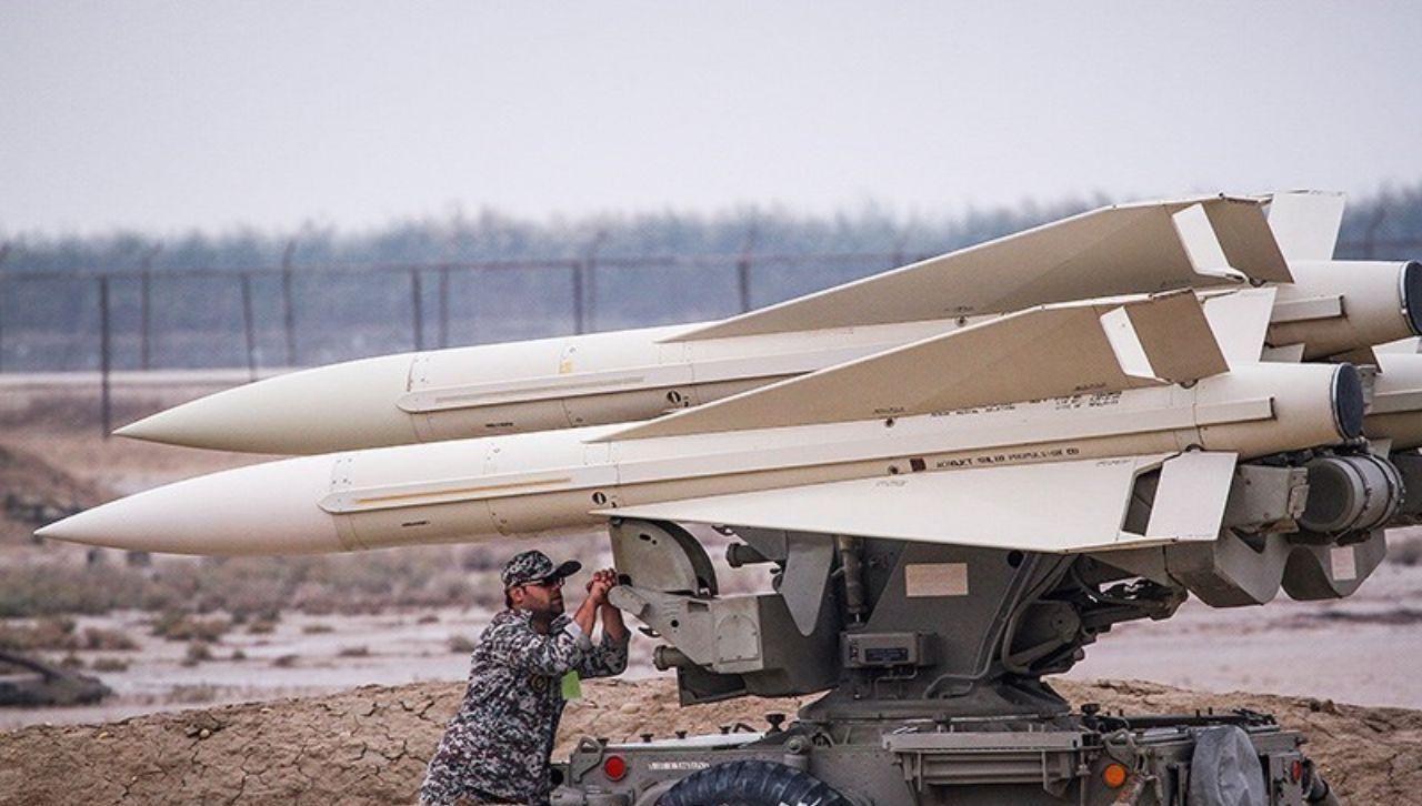 پدافند هوایی ارتش یک پهپاد را ساقط کرد