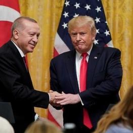 ترامپ: هوادار پروپاقرص اردوغان هستم