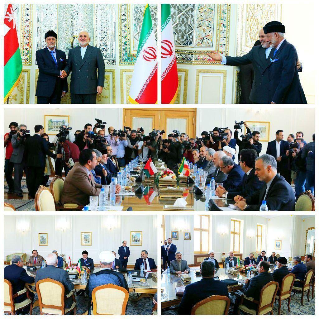 دیدار وزیرخارجه عمان و ظریف
