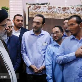 بازدید از پیش اعلام نشده رئیس قوه قضاییه از زندان مرکزی اصفهان
