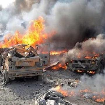 انفجار ۲ خودرو بمبگذاری شده در راس العین