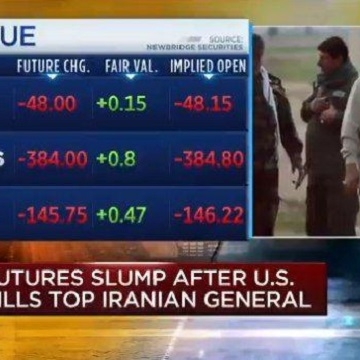 واکنش بازار به ترور سردار سلیمانی: جهش قیمت نفت و طلا و وضعیت قرمز در بازارهای سهام