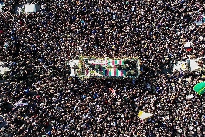 Image result for تشییع سردار سلیمانی در تهران