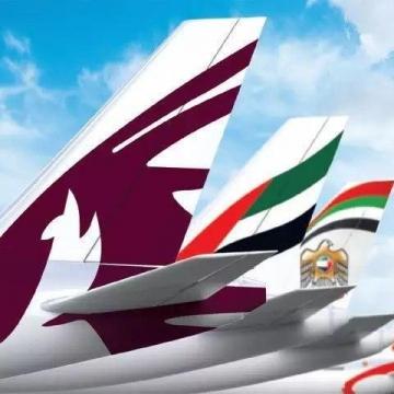 هواپیماییهای امارات، قطر و کویت زیر بار تحریم آسمان ایران نرفتند