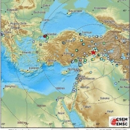 آمار اولیه از مرگ دست کم ۴ نفر در زلزله شرق ترکیه حکایت دارد
