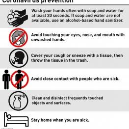 چطور از ابتلا به ویروس کرونا پیشگیری کنیم؟