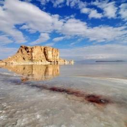 آب دریاچه ارومیه بیش از ۱.۵ میلیارد مترمکعب افزون بر سال گذشته