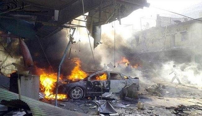 ۵ کشته در انفجار خودرو در سوریه