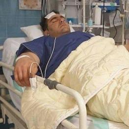 قویترین مرد ایران هدف گلوله قرار گرفت
