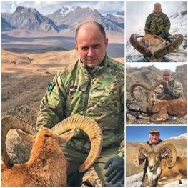 ژست جدید شکارچیان خارجی با حیوانات شکار شده در ایران