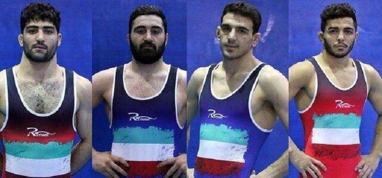 یک طلا، یک نقره و ۲ برنز آزادکاران ایران در قهرمانی آسیا