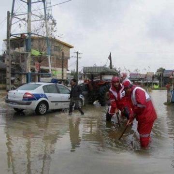 امدادرسانی به ۳۵۰ نفر در ۱۳ استان متأثر از سیل و آبگرفتگی/ فوت ۳ تن در بوشهر و بندرعباس