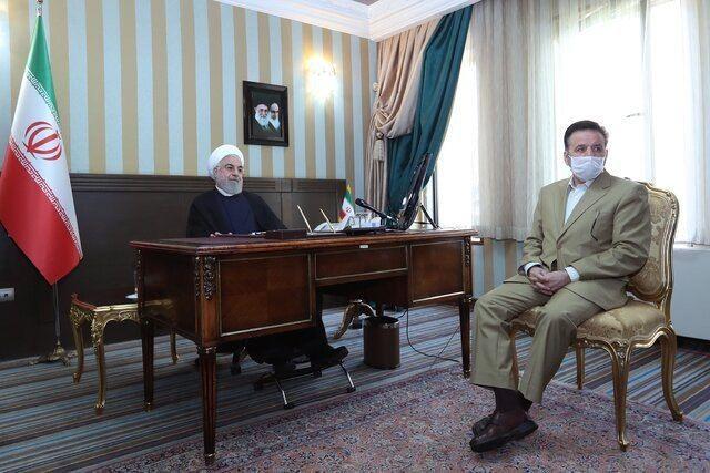 روحانی: امیدواریم جشن نیمه شعبان، جشن پایان کرونا در کشور باشد