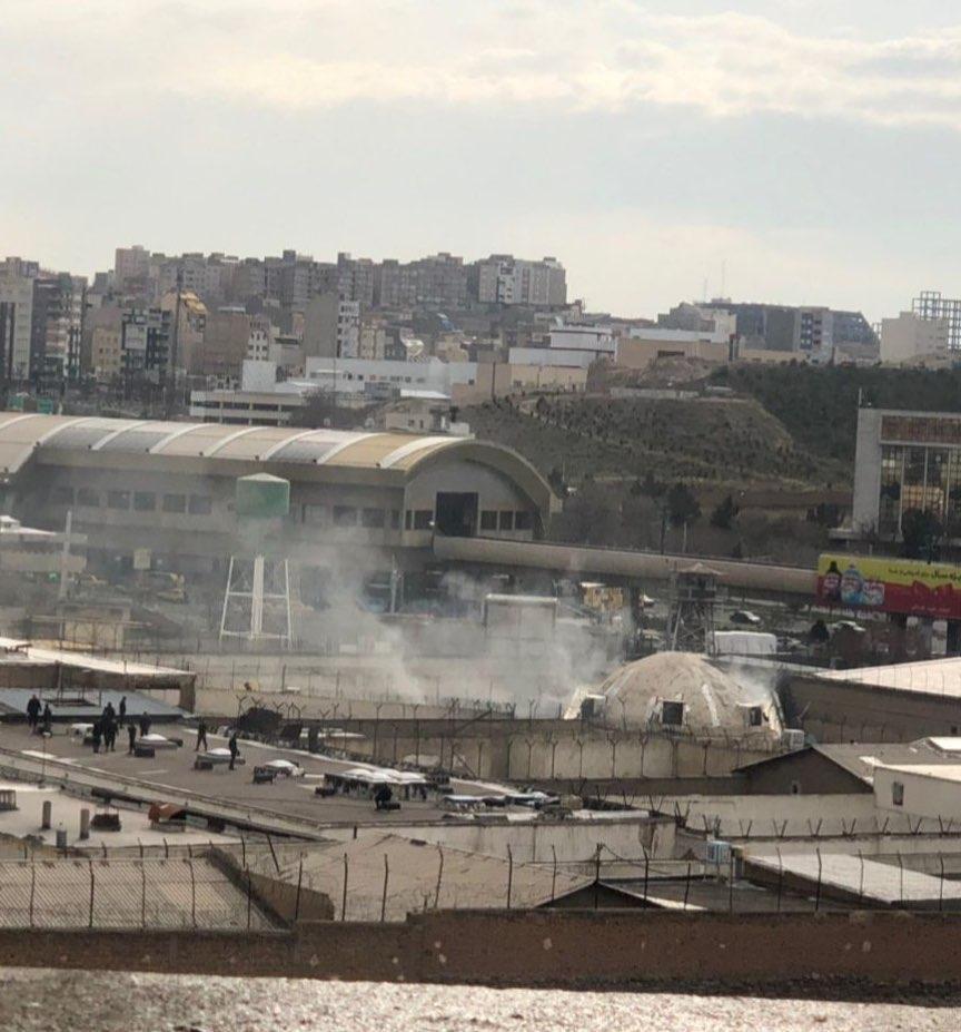 تکذیب تیراندازی در زندان تبریز / فرماندار تبریز: یک آتشسوزی جزئی بود