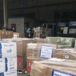 ارسال هفتمین محموله کمکهای اهدایی شانگهای به تهران