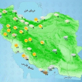 بارشها در شرق کشور تداوم دارد
