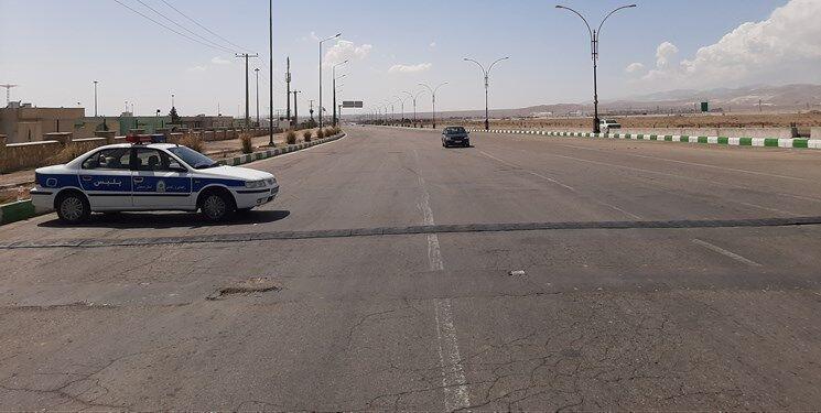 انسداد محور کندوان و منطقه یک آزادراه تهران-شمال