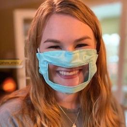 این ماسک امن و خلاقانه به ناشنوایان کمک میکند با دیگران ارتباط برقرار کنند