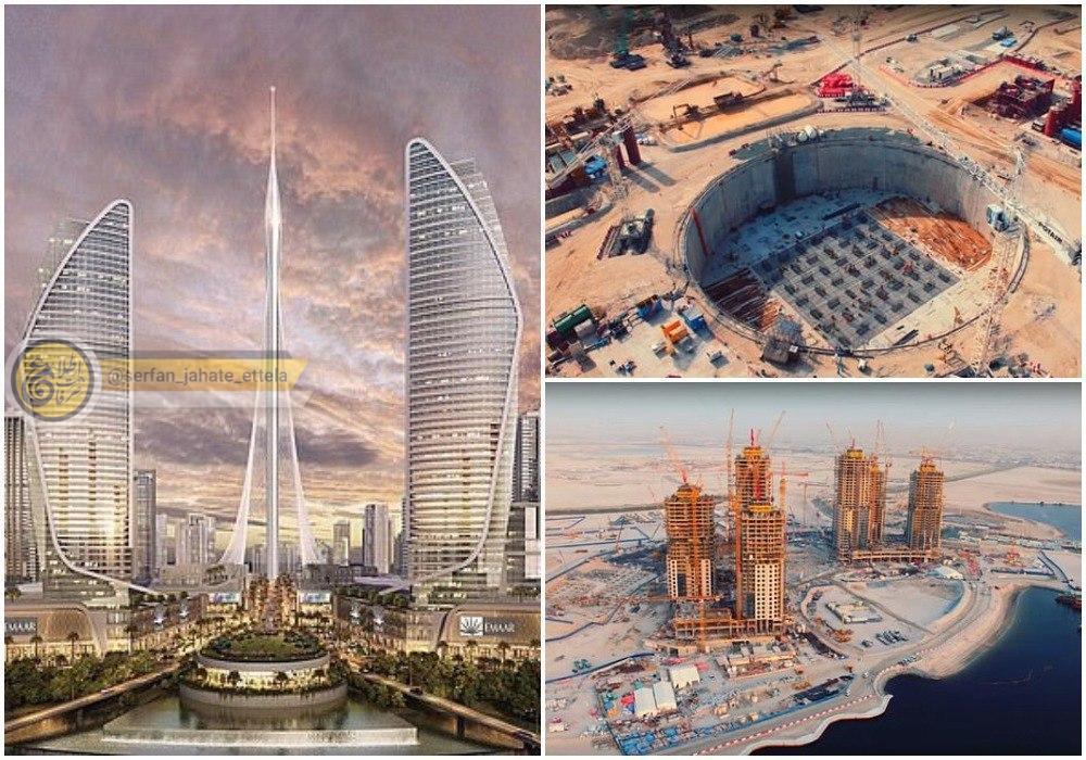 توقف ساخت بلندترین برج جهان در دبی به دلیل شیوع کرونا