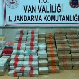 کشف ۱۳۸ کیلوگرم هروئین در مرز ترکیه با ایران