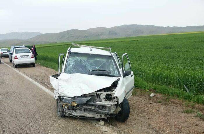پرايد با سگ تصادف کرد، راننده کشته شد!