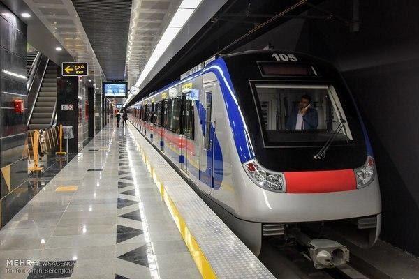 آمار روزانه مسافران مترو پایتخت از ۸۰۰ هزار نفر عبور کرد