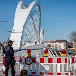 فرانسه و آلمان خواستار بازگشایی سریع مرزها در اروپا شدند