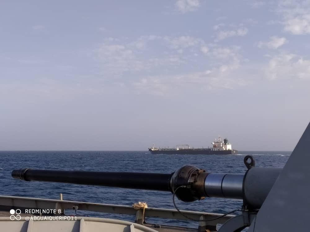 چهارمین نفتکش ایران وارد آبهای ونزوئلا شد