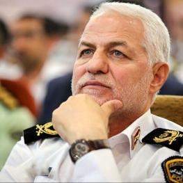 ترفیع درجه رئیس پلیس راهور ناجا از سوی مقام معظم رهبری