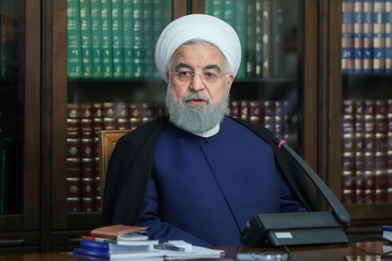 آقای روحانی در جلسه برنامهریزی برای تحقق شعار جهش تولید و تکمیل پروژههای کلان ملی