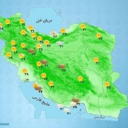از فردا تا یکشنبه خلیج فارس و شرق دریای عمان مواج است.