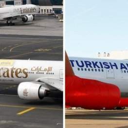 خطوط هوایی ترکیه و امارات پروازهایشان را به تدریج از سرمیگیرند