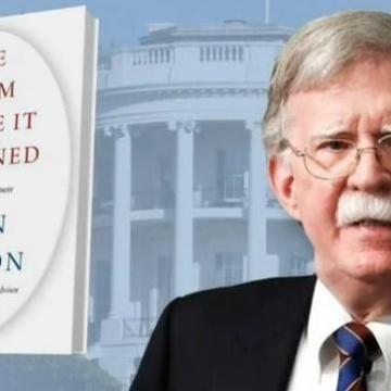 جان بولتون کتاب خود با نام «اتاقی که در آن اتفاق افتاد» را چاپ کرد.