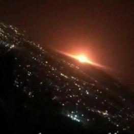 «انفجار مخزن گاز در شرق تهران»