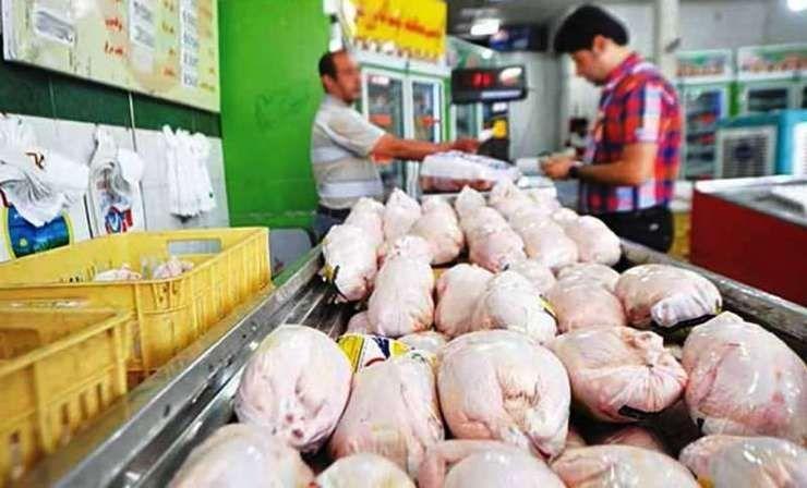 قیمت مرغ منجمد تنظیم بازار ۱۳ هزار و ۵۰۰ تومان برای مصرف کننده