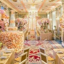 عروسی به سبک سیندرلا در لواسان با یک میلیارد تومان هزینه