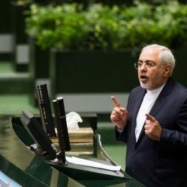 وزیر امور خارجه در صحن علنی مجلس