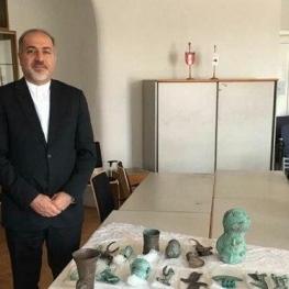 اشیاء باستانی ایران از اتریش به کشور بازگردانده میشود