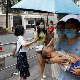 چین بالاترین آمار روزانۀ ابتلا به کرونا از ماه آوریل را ثبت کرد
