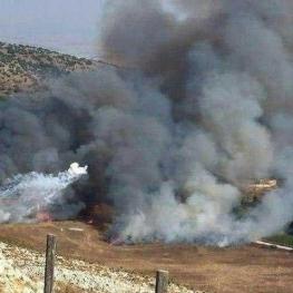 تبادل آتش بین رزمندگان حزبالله و نظامیان صهیونیست در «مزارع شبعا»