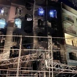 اتصال برق کولر علت حادثه کلینیک سینا اطهر