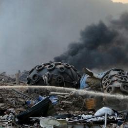 نفجار بیروت ۳۰۰ هزار بی خانمان برجا گذاشت