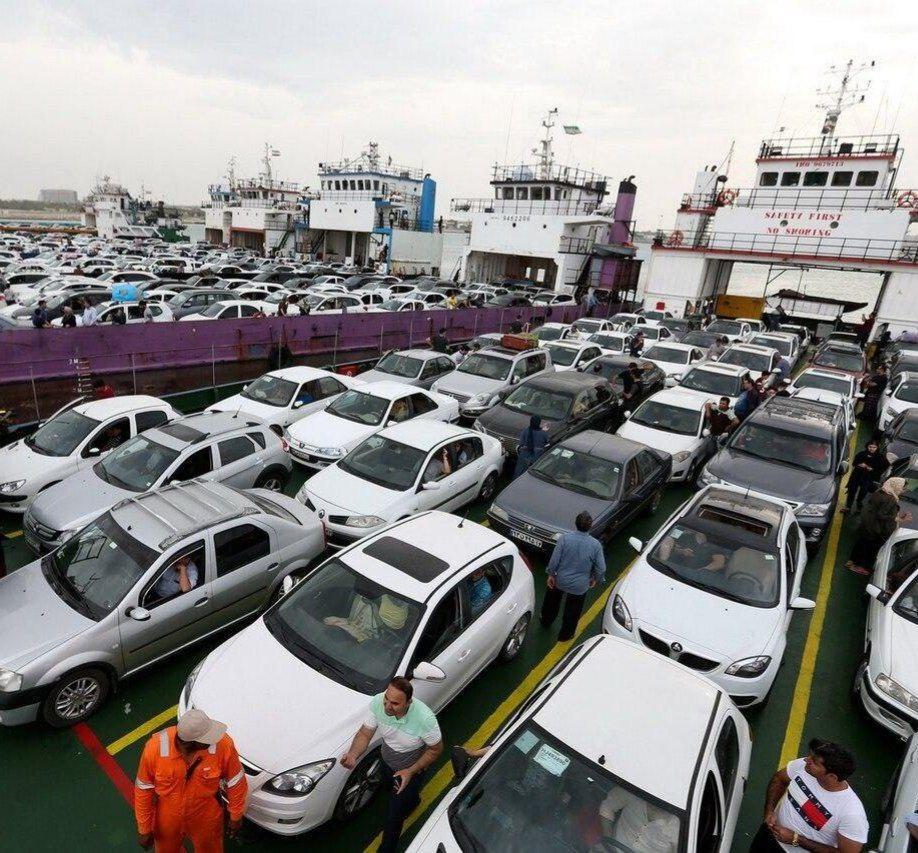 بلاتکلیفی یک هزار و ۱۰۰ خودروی وارداتی در گمرک