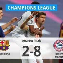 یک چهارم نهایی لیگ قهرمانان اروپا؛ تحقیر یاران مسی در شب گلباران نیوکمپ