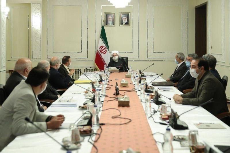 رئیس جمهور در جلسه روسای کمیته های ستاد ملی مقابله با کرونا