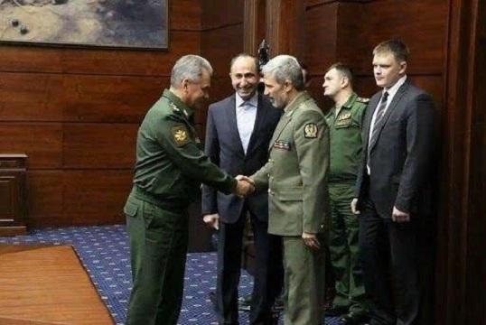 دیدار وزیران دفاع ایران و روسیه