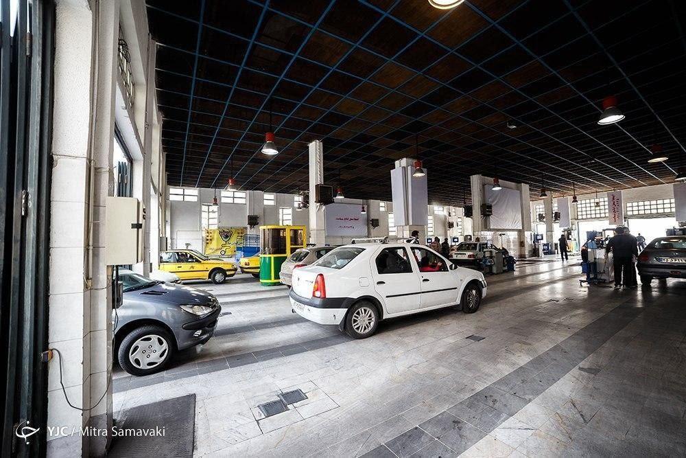فعالیت ۶۲۴ مرکز معاینه فنی خودروهای سبک در شهرهای کشور
