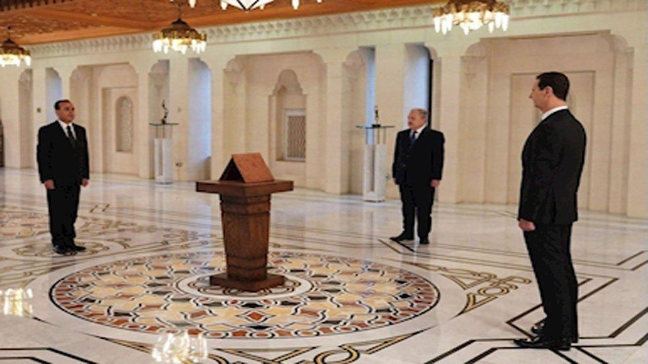 کابینه جدید سوریه سوگند یاد کرد