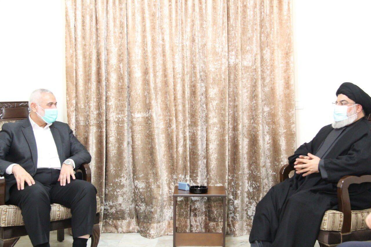 اسماعیل هنیه با سیدحسن نصرالله دیدار کرد